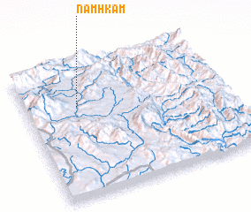 3d view of Namhkam