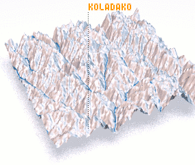 3d view of Koladako