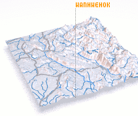 3d view of Wān Hwè-hok