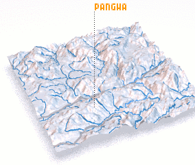 3d view of Pangwa