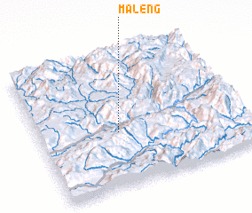 3d view of Ma-leng