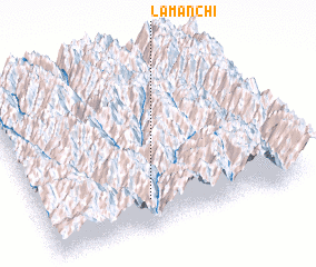 3d view of Lamanchi