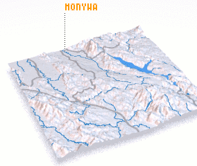 3d view of Mon-ywa