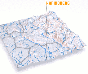 3d view of Wān Kio-keng