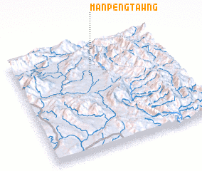 3d view of Mān Pengtawng