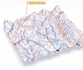 3d view of Tawngkaw