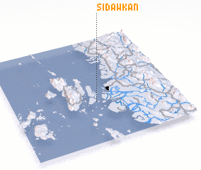 3d view of Sidawkan