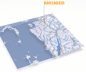 3d view of Bān Sadein