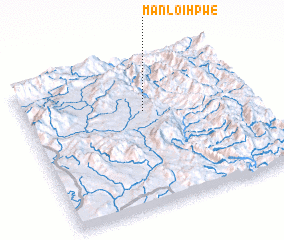 3d view of Mān Loi-hpwe