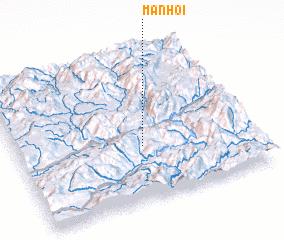3d view of Mān Hoi