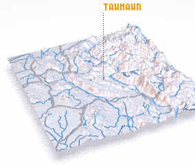 3d view of Tawmawn