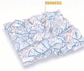 3d view of Mān Heng