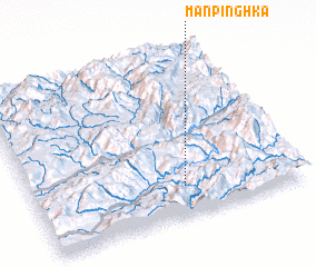 3d view of Mān Pinghka