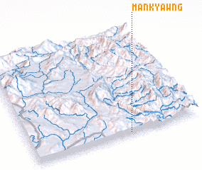 3d view of Mān Kyawng