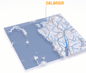 3d view of Salāngin
