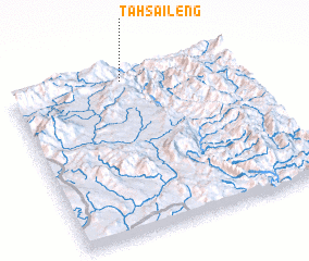 3d view of Ta Hsaileng
