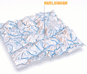 3d view of Mān Loi-hkam