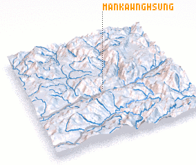 3d view of Mān Kawnghsung