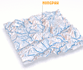 3d view of Möng Paw