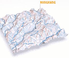 3d view of Möng Kang