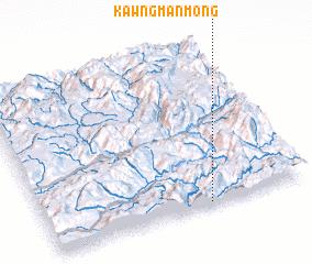 3d view of Kawng Mān Möng