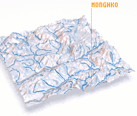 3d view of Möng Hko