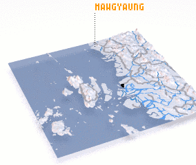 3d view of Mawgyaung