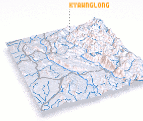 3d view of Kyawnglöng