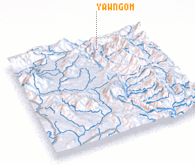 3d view of Yawng-om