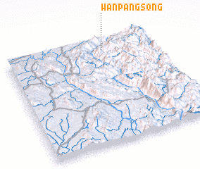 3d view of Wān Pāngsong