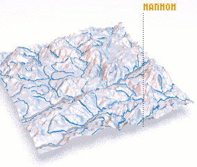 3d view of Mān Mom