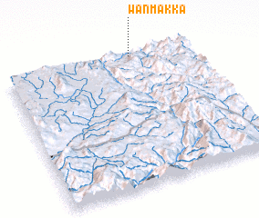 3d view of Wān Mākka