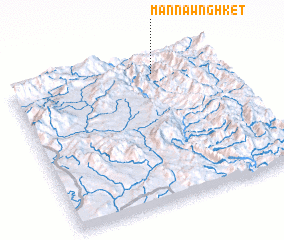 3d view of Mān Nawnghket