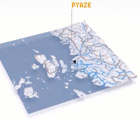 3d view of Pyaze