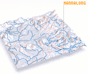 3d view of Mān Na-long
