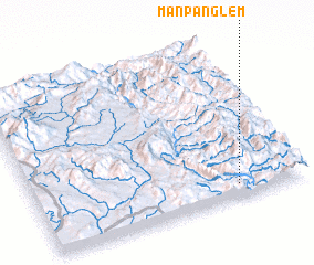 3d view of Mān Pānglem
