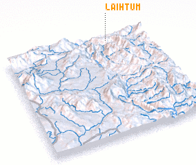 3d view of Lai-htum