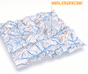 3d view of Wān Lengpa-chai
