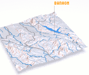 3d view of Ban Hom