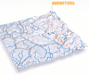 3d view of Wān Ho-töng