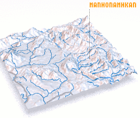 3d view of Mān Ho-namhkan
