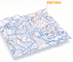 3d view of Mān Ta-rō