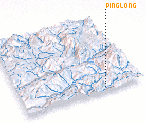 3d view of Pinglong
