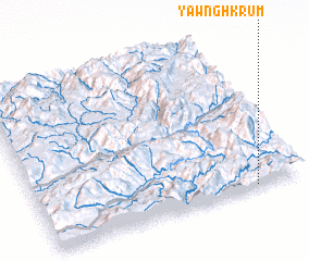 3d view of Yawng-hkrum
