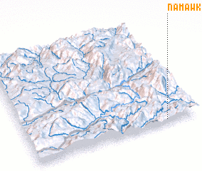 3d view of Nam-awk