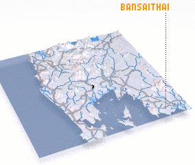3d view of Ban Sai Thai