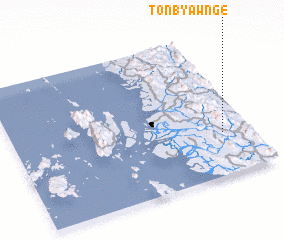 3d view of Tonbyawnge