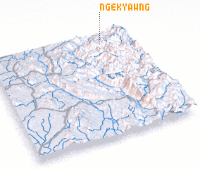 3d view of Ngek-yawng