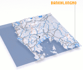 3d view of Ban Khlong Mo