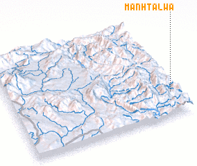 3d view of Mān Hta-lwa